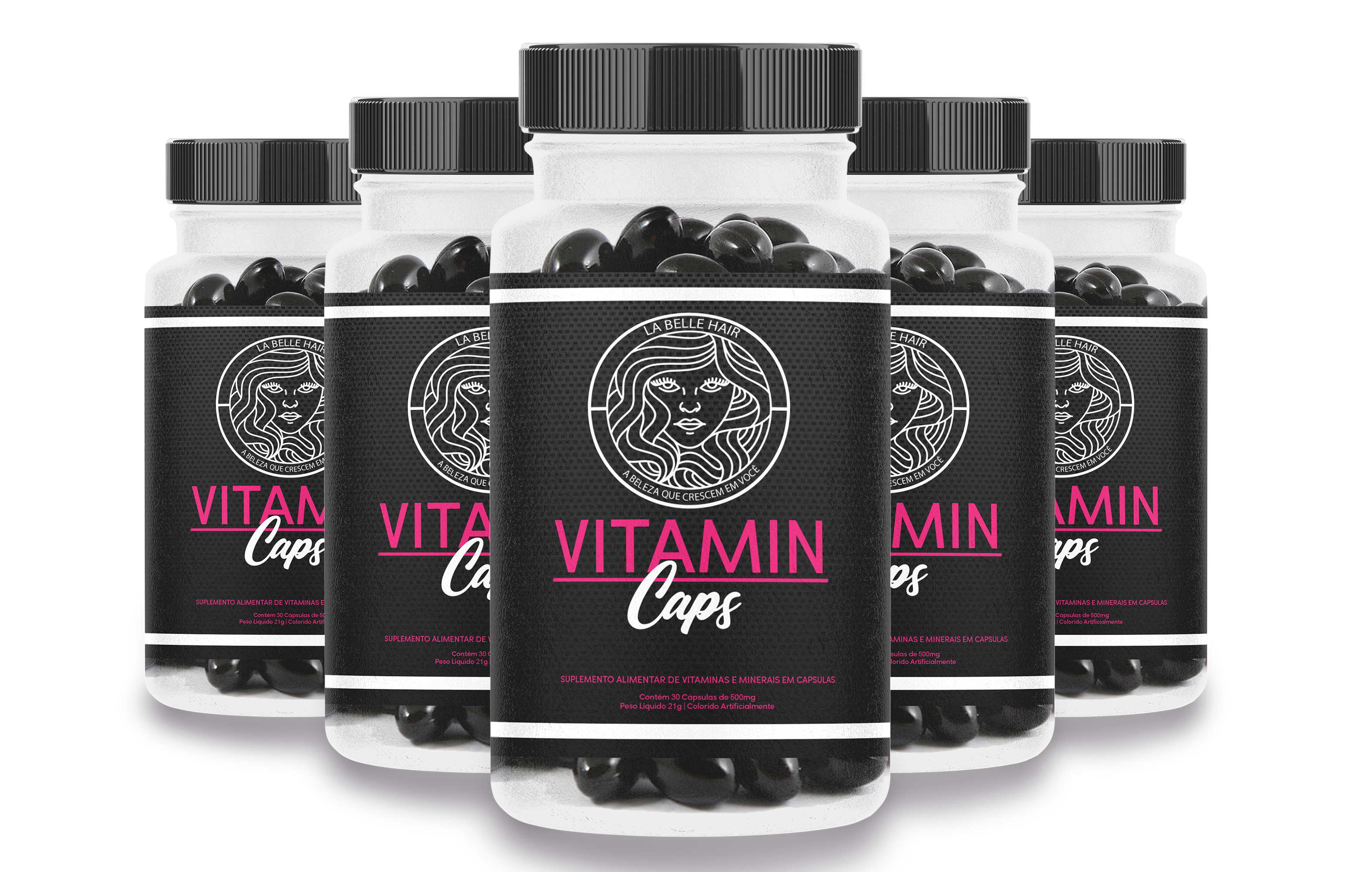 La Belle Hair - Vitamin Caps